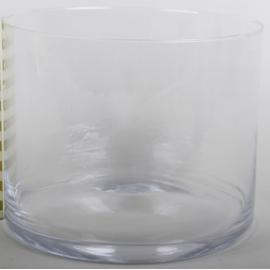 Vase flute en verre