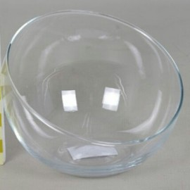 Coupe verre demi boule biais