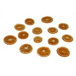 Rondelles d'orange lyophilisées