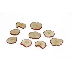 Rondelles de pommes lyophilisées