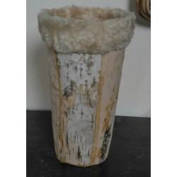 Vase Ecorce a fourrure