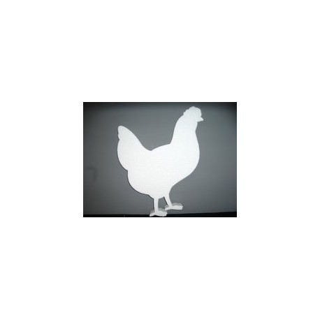 Petite poule ceramique