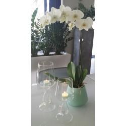 Photophore Verre chandelier