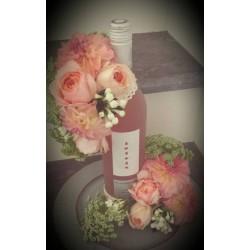 Vase Lys Blanc en Verre