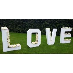 Location Lettres LOVE géantes