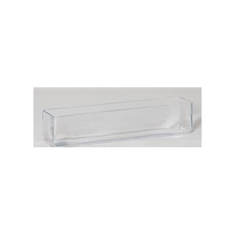 Vase Rectangulaire transparent