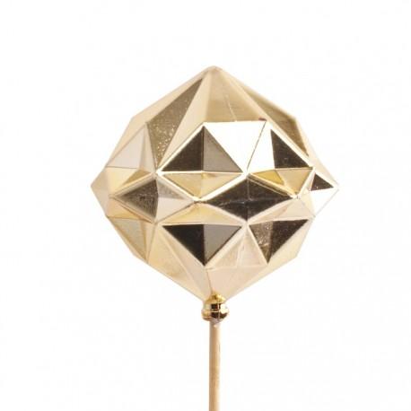 Boule diamant sur Tige