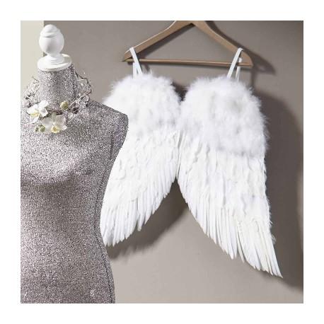 Ailes d'ange en plumes