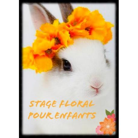 Stage art Floral pour Enfants