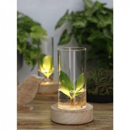 Led tube vase