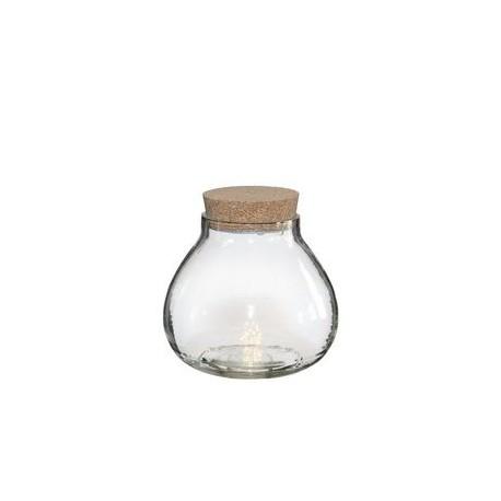 Led boule vase