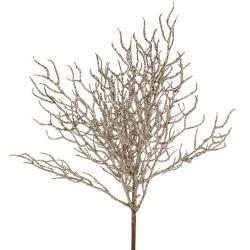 Branches corail paillettes