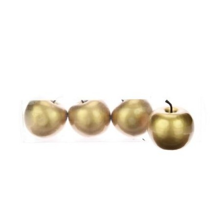 4 Pommes pvc nacrées