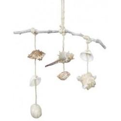 Mini suspension coquillage